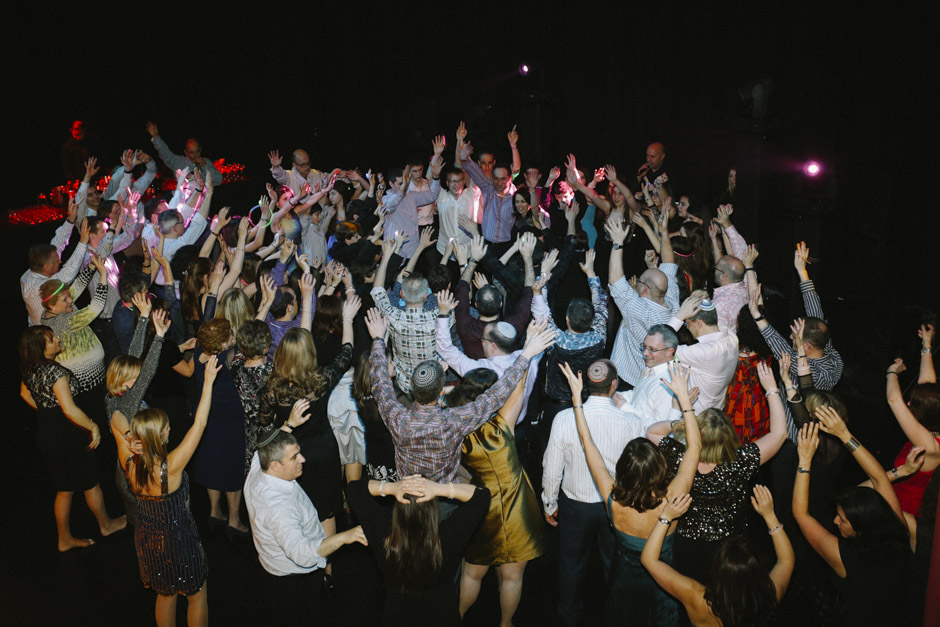 Dancing at a bar mitzvah in North London