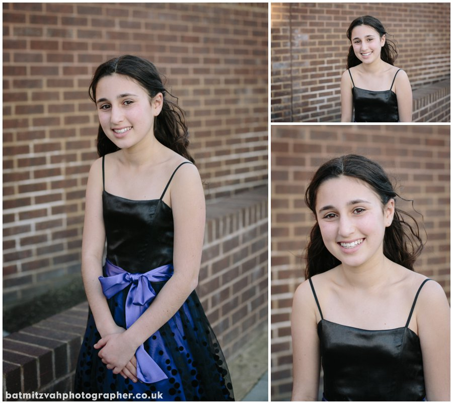 Ella's bat mitzvah at the Mill Hill Synagogue Ner Orr Community Centre North London 5