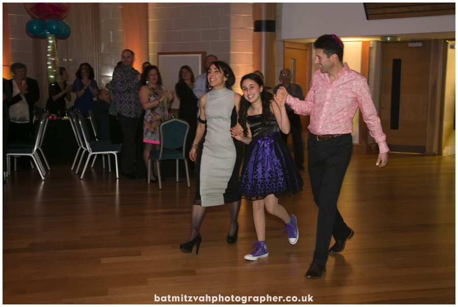 Ella's bat mitzvah at the Mill Hill Synagogue Ner Orr Community Centre North London 8